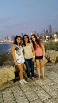 With my aunt and cousin