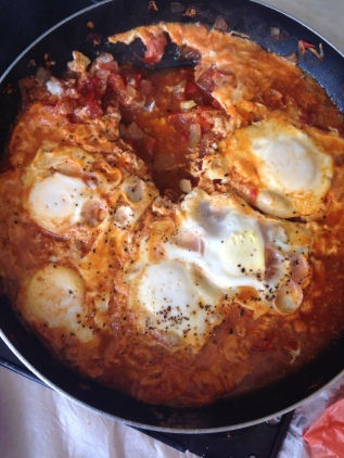 Saturday morning Shakshuka