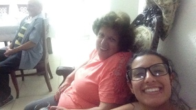 Grandma and I!